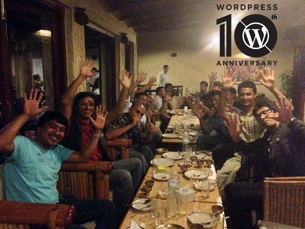 WordPress 10th Anniversary in Nepal