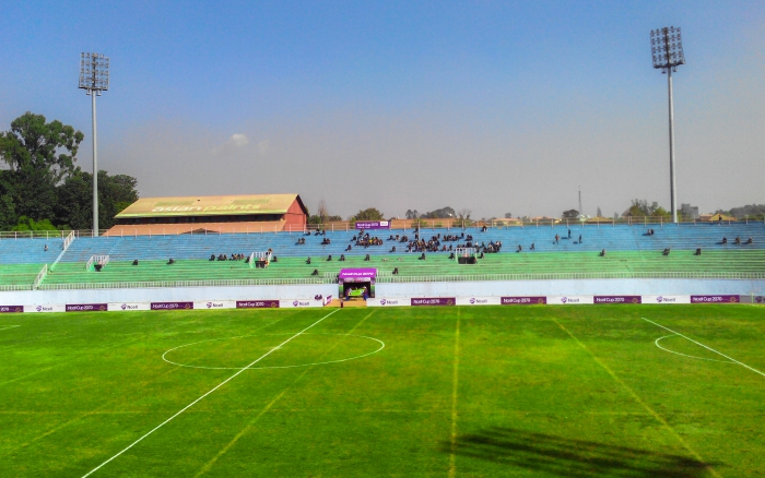 Dashrath Stadium During First Day of NCELL Cup