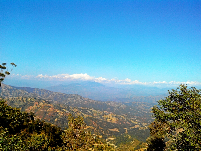 Mountain and Hills from Dhulikhel