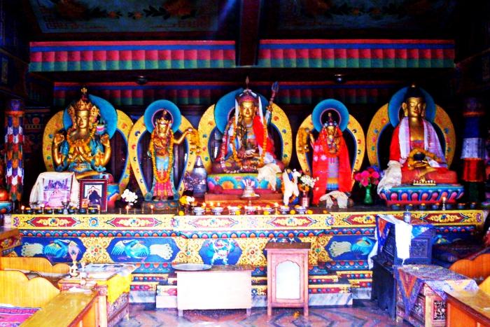Statues of God in Boudha, Kathmandu