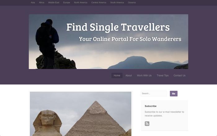 findsingletravellers.com