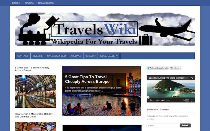 travelswiki.com